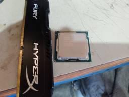 Proc. i3 3.40 GHz 3G+ 4Gb ddr3 HYperx 313 Fury Kingston