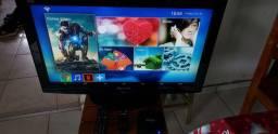 TV 32 com aparelho smart MQX PRO 4K Wi-Fi