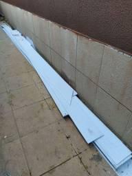 Vende-se forro PVC, meio beg de brita e pisos de diferentes modelos