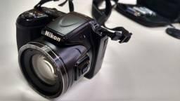 Máquina Fotográfica Nikon Preto Avançada Excelente Estado