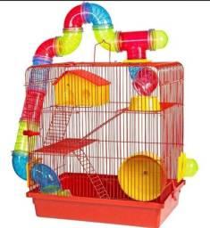 Gaiolas de Hamster com Tubos - Preço de Ponta de Estoque