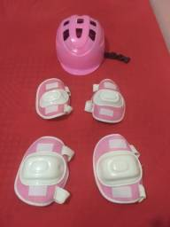 Kit proteção (bicicleta,patins.)