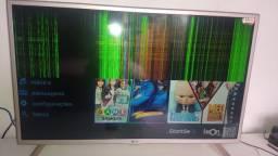 TV LG 32 Tela trincada