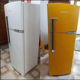 Envelopamento de geladeira - adesivo para geladeira