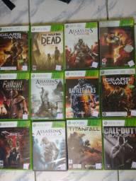 Vários jogos Xbox 360