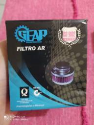 Filtro de Ar esportivo e Comando preparado para Factor 125/ YBR 125