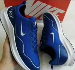 Tênis Nike Air Azul Novo