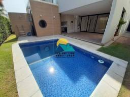 Linda Casa Jardins Ibiza | Desocupada | Piscina/Deck/Churrasqueira | 4 suítes