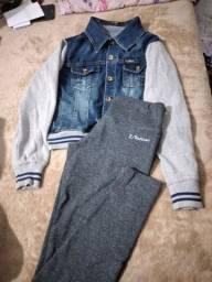 Vendo Jaquetinha jeans e legging