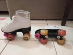 patins infantil de marcar bouts, número 33,34. em ótimas condições de uso