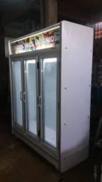 Expositor de Frios 3 Portas 110v Semi-Novo