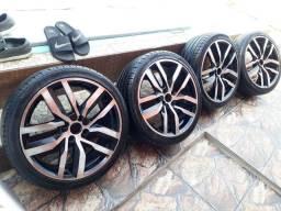 Rodas Aro 17 pneus zerados