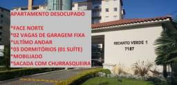 Apartamento Club Recanto Verde com 02 vagas de garagem
