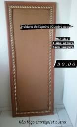 1 Moldura de Espelho 1.64m altura 64cm largura