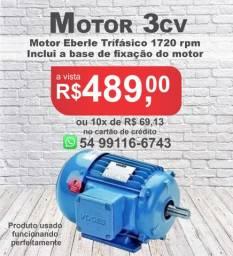 Motor Trifásico 3cv