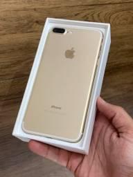 iPhone 7 Plus 32GB Dourado Gold - Até 12x no cartão! Semi novo, perfeito 32 GB