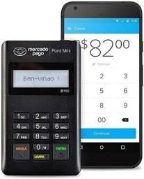 Maquininha do mercado pago point mini e mini chip