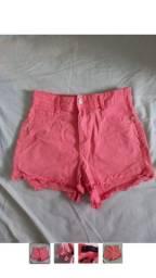 Short hot pants rosa