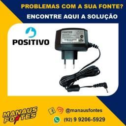 Fonte Carregador Notebook Positivo 5V Ponta Fina! Mais Informações no WhatsApp.