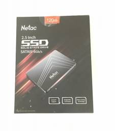 SSD Netac 120 GB - Novo Pronta Entrega