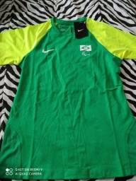 Camiseta oficial de treino do Comitê Paralímpico Brasileiro