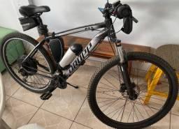 Bike elétrica freios hidráulicos toda Shimano