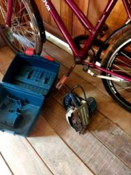 Bicicleta, e uma makita