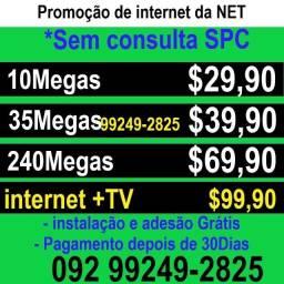 Título do anúncio: internet netclaro