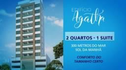 Lançamento na Praia do Morro. Apartamento de 2 Quartos sendo uma suíte, 1 Vaga de Garagem.
