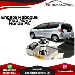 Título do anúncio: Engate Reboque Fixo Novo Honda Fit 2008 - 2014