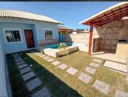 JS CA0065 Casa de praia com 2 quartos em Unamar - Cabo Frio/RJ
