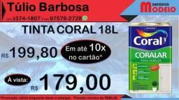 TintaCoral 18L Coralar #deposito modelo