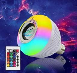 Título do anúncio: Lampada Bluetooth De Led Caixa De Som C Controle