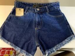 Short jeans NOVO tamanho 36