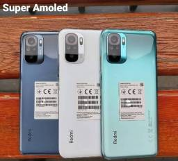 Lacrado - Celular Xiaomi Redmi Note 10 - 6GB Ram / 128GB Rom Global + Capinha e Película