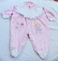 Lote de menina Bebê 12 peças