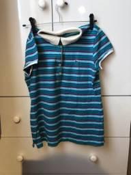 Camisa polo feminina LACOSTE oficial