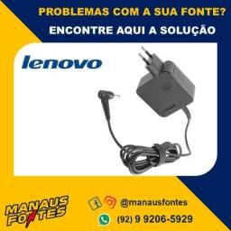 Fonte Carregador Notebook Lenovo Ideapad 20V Ponta Fina! Mais Informações no WhatsApp