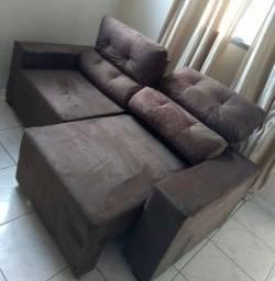 sofa retrat novo da fabrica