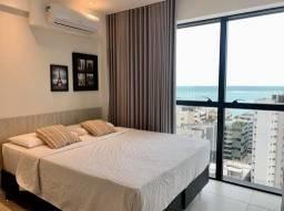 Apartamento no Edf Time com 1 dormitório à venda, 35 m² por R$ 460.000 - Ponta Verde - Mac