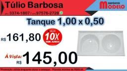 Tanque 2 Bojos 1,00x0,50 NOVO #depositomodelo