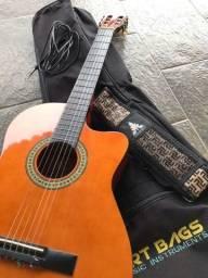 Violão Star Giannini + Capa de violão art bags + Correia Phoenix