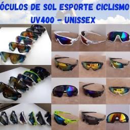 Oculos de Sol Ciclismo Esporte Pesca - Unissex