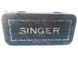 Antiga Caixa Acessórios Singer Inglesa - 1958