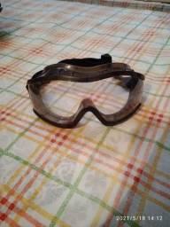 Oculos silicune e acrilico para motos