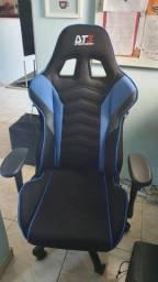 Cadeira Gamer DT3 Sports Elise Preta com Azul - Seminova