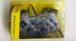 Playstation Controle Para PS2 com Fio ANALÓGICO