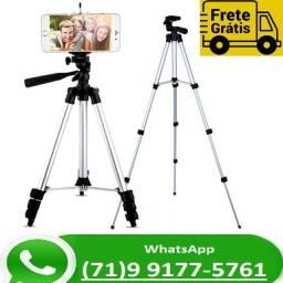 Tripé 3 Way Câmera E Celular Foto Selfie Ajustável 1m 3110 (NOVO)