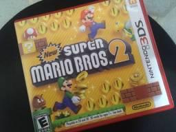 Título do anúncio: New Super Mario Bros. 2 - Nintendo 3ds