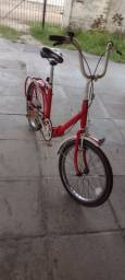Título do anúncio: Bicicleta Caloi antiga dobrável